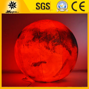 1.2m High Quality Inflatable Lighting Mars