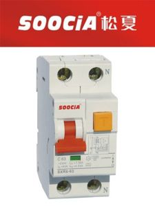 Sxr6 ELCB Earth Leakage Current Circuit Breaker RCCB