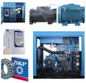 75kw Screw Variable Frequency Air Compressor pictures & photos