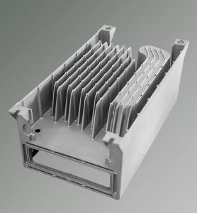 High Pressure Die Casting Aluminum Cooling Radiator pictures & photos