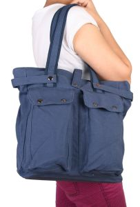 Fashion Womens Canvas Handbag with out Pocket pictures & photos