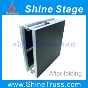 Aluminum Portable Folding Stage, Foldable Stage, Stage Equipment, Exhibition Stage, Car Show Stage pictures & photos