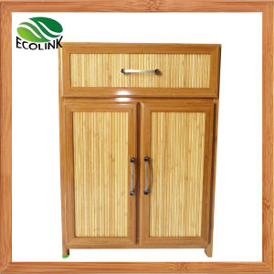 Bamboo Weaving Storage Chest Cabinet pictures & photos