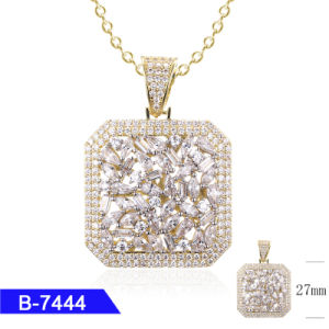 Popular Hip Hop Fashion Jewelry Sterling Silver or Copper Cubic Zirconia Pendant Charms pictures & photos