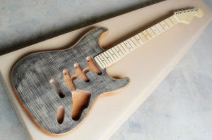 Hanhai/Gray St Style Electric Guitar Kit with Alder Body (DIY Guitar Parts) pictures & photos