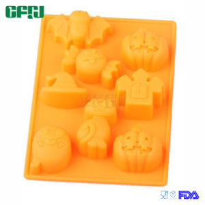 Original Manufacturer Halloween Food Grade Silicone Chocolate Mold Ice Tray pictures & photos