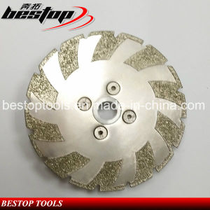 Electroplate Grinding Small Blade Disc for Granite pictures & photos