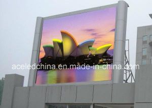 2016 Hot Sale Slim LED Display HD Full Color P10 Outdoor LED Screen for Fixed pictures & photos