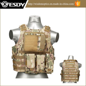 Military Army Paintball Combat Tactical Molle Vest for Hunting pictures & photos