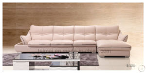 Fashion Italy L Shape Sectional Leather Sofa (corner sofa) pictures & photos