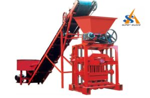 Fully Automatic Cement Hollow Brick Making Machine pictures & photos