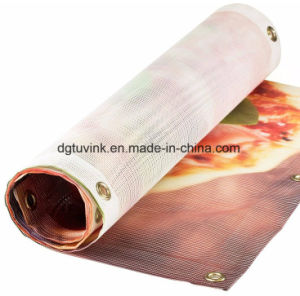 Outdoor One Way Vision PVC Vinyl Fence Advertising Mesh Banner for Printing Fabric Design pictures & photos