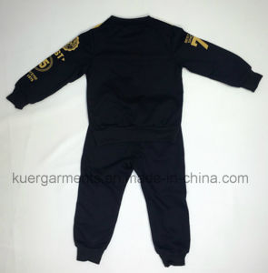Kids Printing Boy Sports Suit Children Clothing pictures & photos