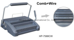 Comb and Wire Book Binding Machine for HP-7588cw pictures & photos