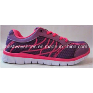 Mesh Shoes Fabric Shoes for Ladies pictures & photos