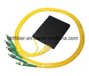 ABS 1X4 Fiber PLC Splitter with FC/APC Connector pictures & photos