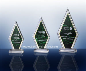 Clear Acrylic Plastic Trophy with Engraved or Printed Logo (BTR-I7057) pictures & photos
