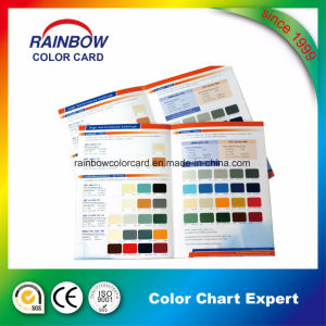 A4 Size Building Material Wall Paint Color Card pictures & photos