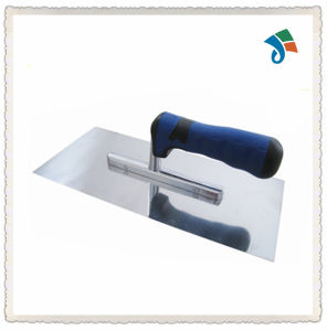 TPR Handle Stainless Steel Plastering Trowel pictures & photos