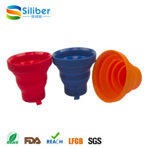 Portable Collapsible Silicone Cup/ Mug for Travelling, Camping and Hiking pictures & photos