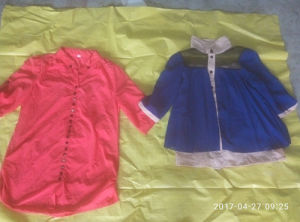 Lot of Bohemian Used Cotton Girl Shirt Clothing in China pictures & photos