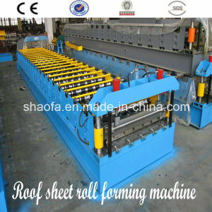Ce Certificate Roofing/Wall Panel Roll Forming Machine pictures & photos