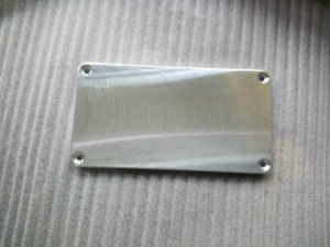 Customized CNC Part, Aluminum CNC Machining Part with Coating pictures & photos
