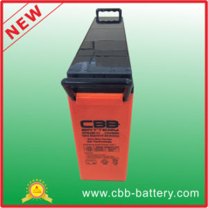 SLA Gel Front Terminal Battery/Special for Solar Usage/Long Cycle Life/Excellent Performance 12V180ah pictures & photos