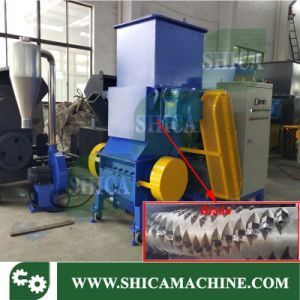 Big Pet PP PVC Fiber Shredder with Crusher and Blower System pictures & photos