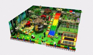 2017 High Quality Large Amusement Park Indoor Playground pictures & photos
