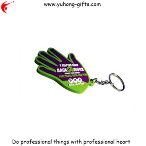 Fashion 50mm Soft PVC Keychain for Gifts (YH-KC005) pictures & photos