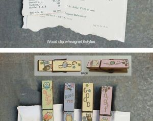 Refrigerator Magnet & Wooden Clip & Wooden Clip with Magnet pictures & photos