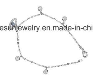 New Arrival Sterling Silver Jewelry Evil Eye /Greek Eye Bracelet pictures & photos