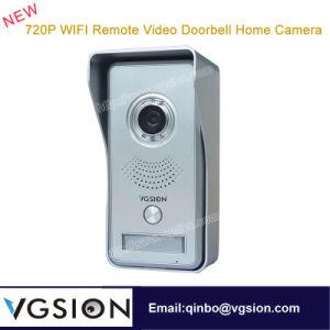 Doorbell Camera 720p WiFi Motion Detecting Remote Video Duplex Two-Way Intercom Doorbell Home Wireless IP Camera