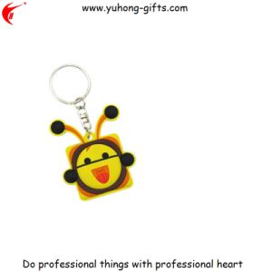 Newest Design Eco-Friendly Material Rubber 3D Key Chain (YH-KC168) pictures & photos