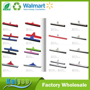 High Quality Floor Squeegee Rubber with Stainless Steel Handle pictures & photos