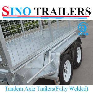 Tandem Box Cage Welded ATV Trailer pictures & photos
