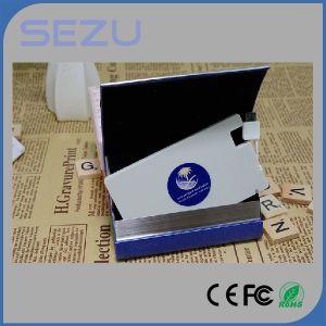 Portable Mini Christmas Gift 1500mAh USB Charger Power Bank pictures & photos