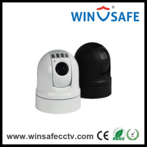 Mini Outdoor Security IP67 Vehicle Camera IP Thermal Imaging PTZ Dome Camera pictures & photos