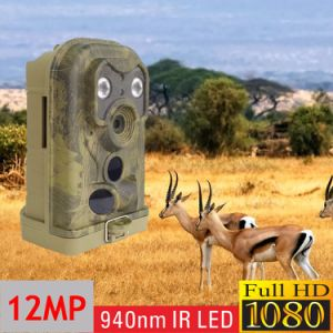 2017 New 12MP HD Digital 940nm IR LED Wildlife Hunting Camera Infrared Scouting Trail Camera pictures & photos