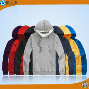 New Plain Sweatshirt Men Cotton Crew Neck Hoodies Blank Pullover pictures & photos