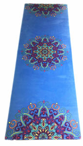 Extra Thick 3mm 5mm Pilates Exercise Yoga Mat with Printed Design pictures & photos