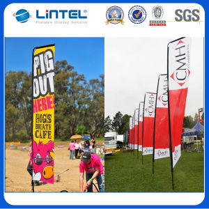 Aluminum Advertising Banner Feather Flag pictures & photos