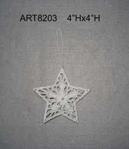 """3.5""""H Crochet Heart Tree Ornaments-Christmas Decoration pictures & photos"""