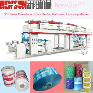 Qdf Series CPP Film High-Speed Lamination Machinery pictures & photos