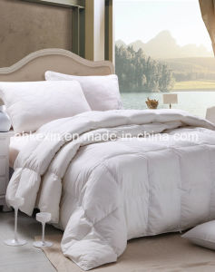European Size 90% Grey Duck Down Thermal Comforter pictures & photos