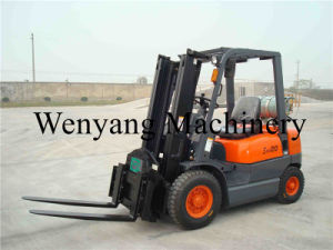 2ton Gasoline /LPG Forklift Truck pictures & photos