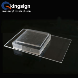 Flexible Customized Thick Clear Acrylic Sheet pictures & photos