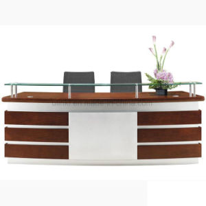 China Wholesale MDF Front Counter Table Reception Desk (HX-RT516) pictures & photos