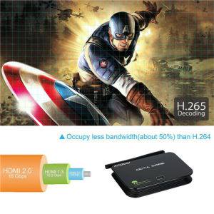 Andoer Z4 TV Box Android 5.1 Rk3368 Cortex-A53 Octa Core 64-Bit 2g/16g 4k WiFi LAN Bluetooth Media Player pictures & photos
